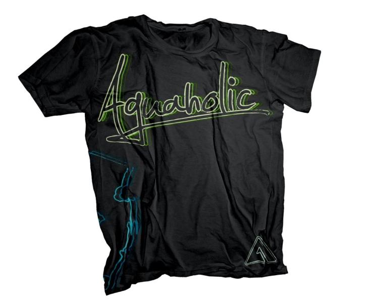 Shirt Design | Aguaholic | 2013