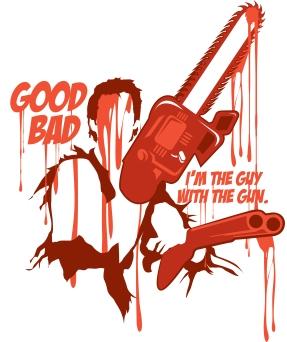 Evil Dead   Ash   Vector Illustration   2015