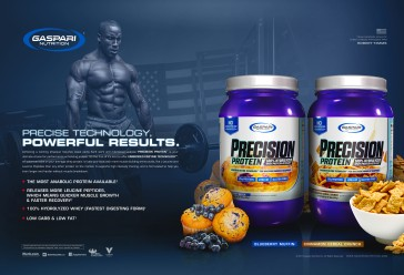 Print Ad | Train Magazine | Gaspari Nutrition | 2017