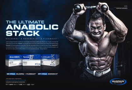 Print Ad | Muscular Development Magazine | Gaspari Nutrition | 2017