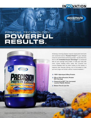 Print Ad | Train Magazine | Gaspari Nutrition | 2018