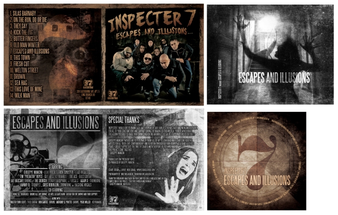 CD packaging | Inspector 7 | 2015
