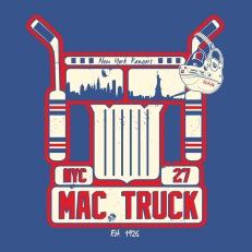 Ryan McDonagh | Mac Truck | Illustration | 2016