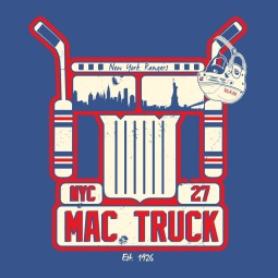 Ryan McDonagh | Mac Truck | Illustration | 2016