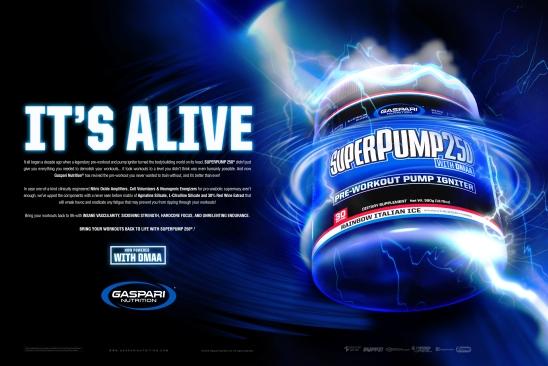 Print Ad | Flex Magazine | Gaspari Nutrition | 2016