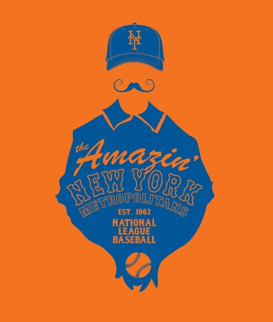 Amazin' Mets | Illustration | 2016