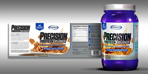 Precision Protein   Label & Render   2017