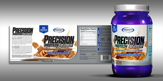 Precision Protein | Label & Render | 2017