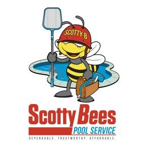 Scotty Bees Pool Service | Logo Branding | 2018