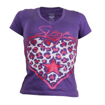 Ladies T-shirt | Siege Athletics | 2015
