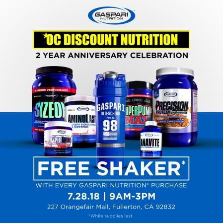 FREE Shaker Social Graphic for Gaspari Nutrition